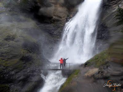 P1140149 - Ruta Las Tres Cascadas de Cerler con mucha agua ...