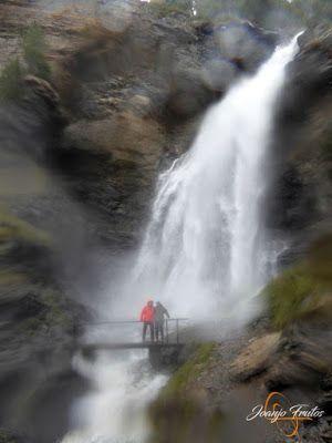 P1140151 - Ruta Las Tres Cascadas de Cerler con mucha agua ...