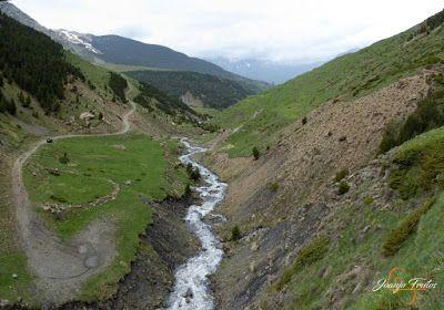 Panorama1 - Ruta Las Tres Cascadas de Cerler con mucha agua ...