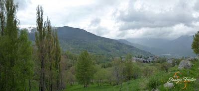 Panorama10 001 - Ruta Las Tres Cascadas de Cerler con mucha agua ...