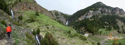Panorama11 001 - Ruta Las Tres Cascadas de Cerler con mucha agua ...