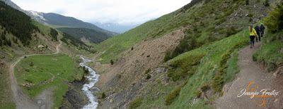 Panorama13 001 - Ruta Las Tres Cascadas de Cerler con mucha agua ...