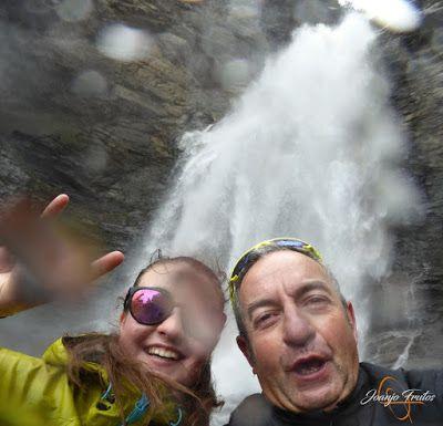 Panorama14 001 - Ruta Las Tres Cascadas de Cerler con mucha agua ...