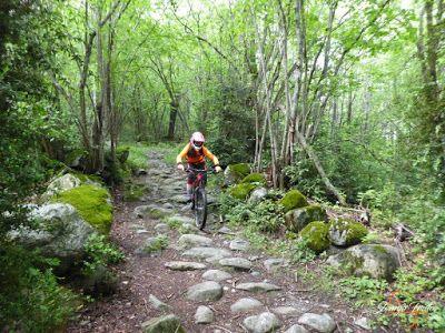 P1140363 - Sale el sol, salen las bicicletas, Valle de Benasque.