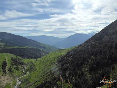 P1140667 - Por encima de Las Tres Cascadas en enduro, Cerler.