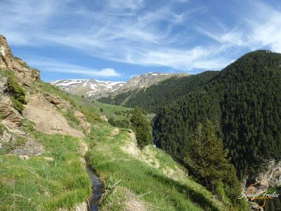 P1140669 - Por encima de Las Tres Cascadas en enduro, Cerler.