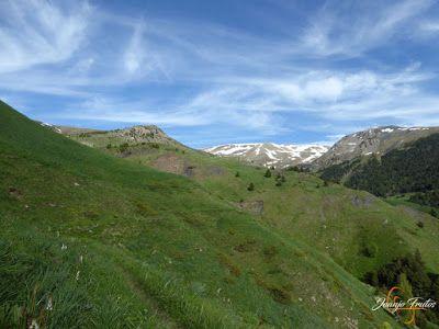 P1140675 - Por encima de Las Tres Cascadas en enduro, Cerler.