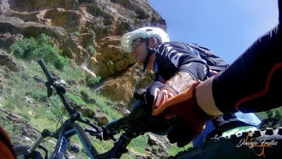 Capturadepantalla2018 07 01alas16.08.07 - Inspección de la ruta de la Nueva Mina de Cerler. Endurando ...