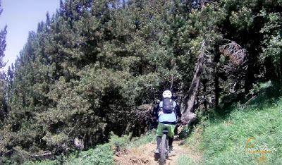 Capturadepantalla2018 07 01alas16.16.15 - Inspección de la ruta de la Nueva Mina de Cerler. Endurando ...