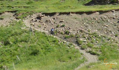 P1150456 - Inspección de la ruta de la Nueva Mina de Cerler. Endurando ...