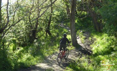 P1150837 - Más bike-postureo en Cerler.