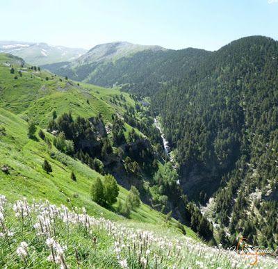Panorama1 001 4 - Inspección de la ruta de la Nueva Mina de Cerler. Endurando ...