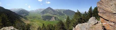 Panorama2 001 2 - Inspección de la ruta de la Nueva Mina de Cerler. Endurando ...