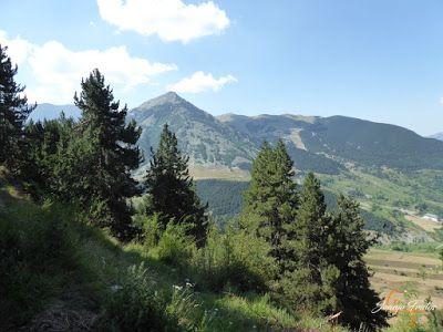 P1160207 - Senderismo por la Ruta13 de Puro Pirineo en Cerler.