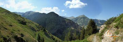 Panorama1 001 - Senderismo por la Ruta13 de Puro Pirineo en Cerler.