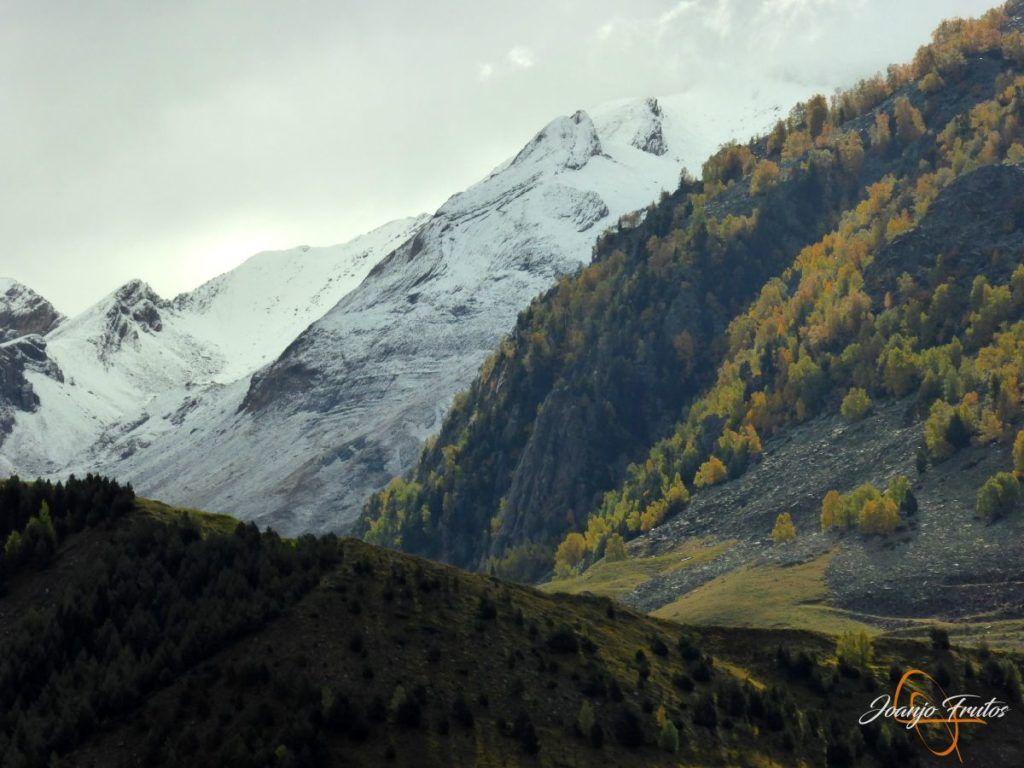 P1190830 1024x768 - Y Leslie deja nieve en Cerler, Valle de Benasque.