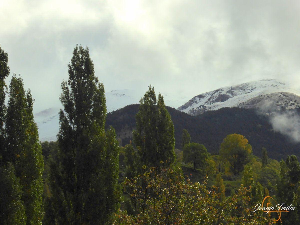 P1190838 - Y Leslie deja nieve en Cerler, Valle de Benasque.