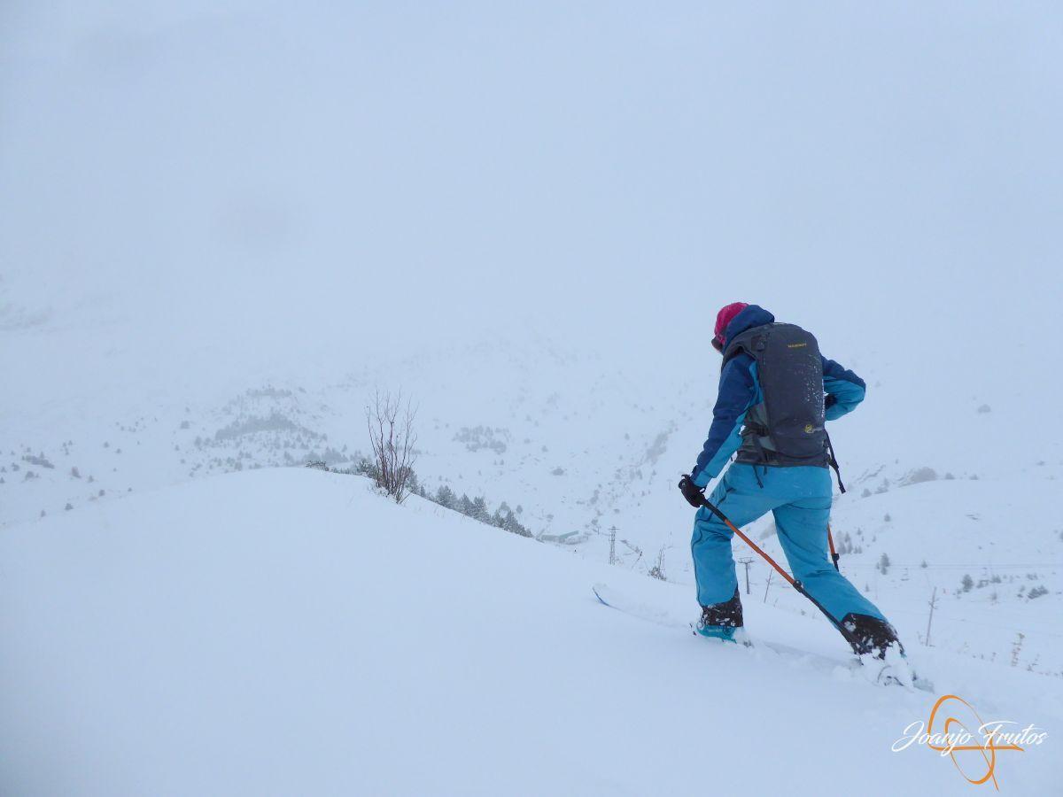 P1200206 - Octubre esquiando en Cerler.