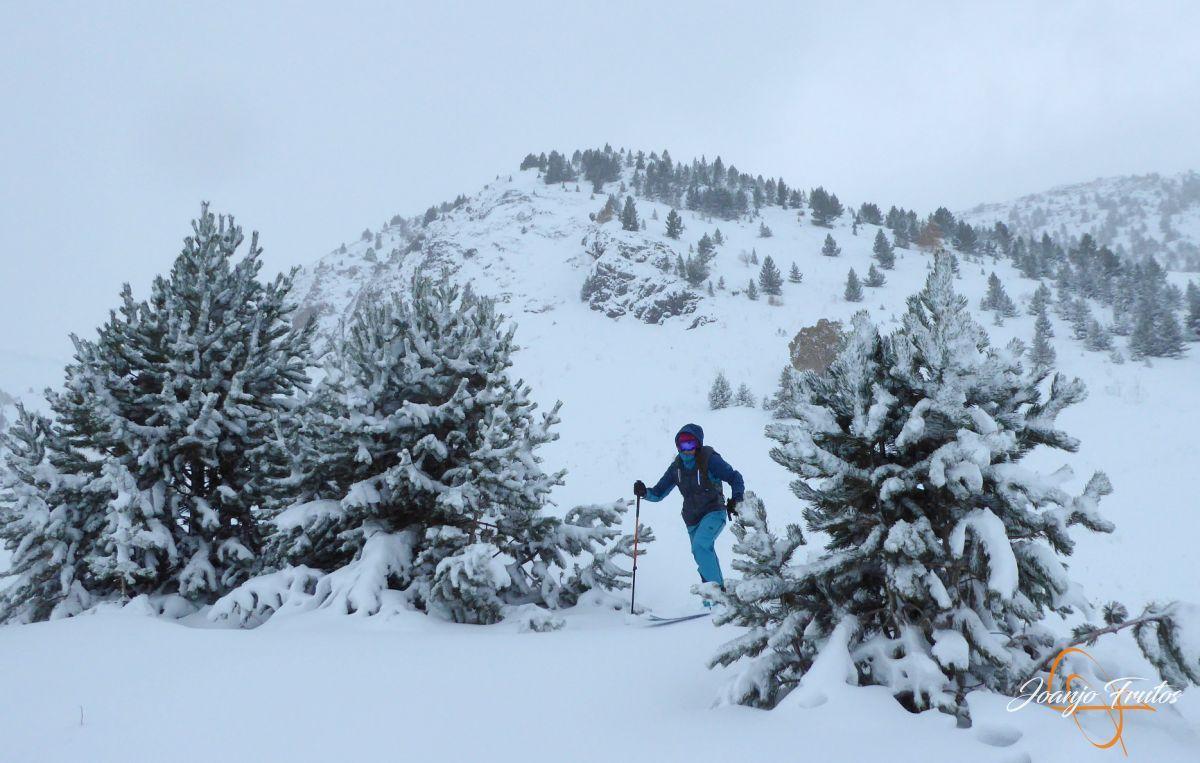 P1200216 - Octubre esquiando en Cerler.