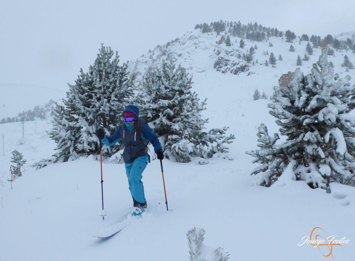 P1200222 - Octubre esquiando en Cerler.