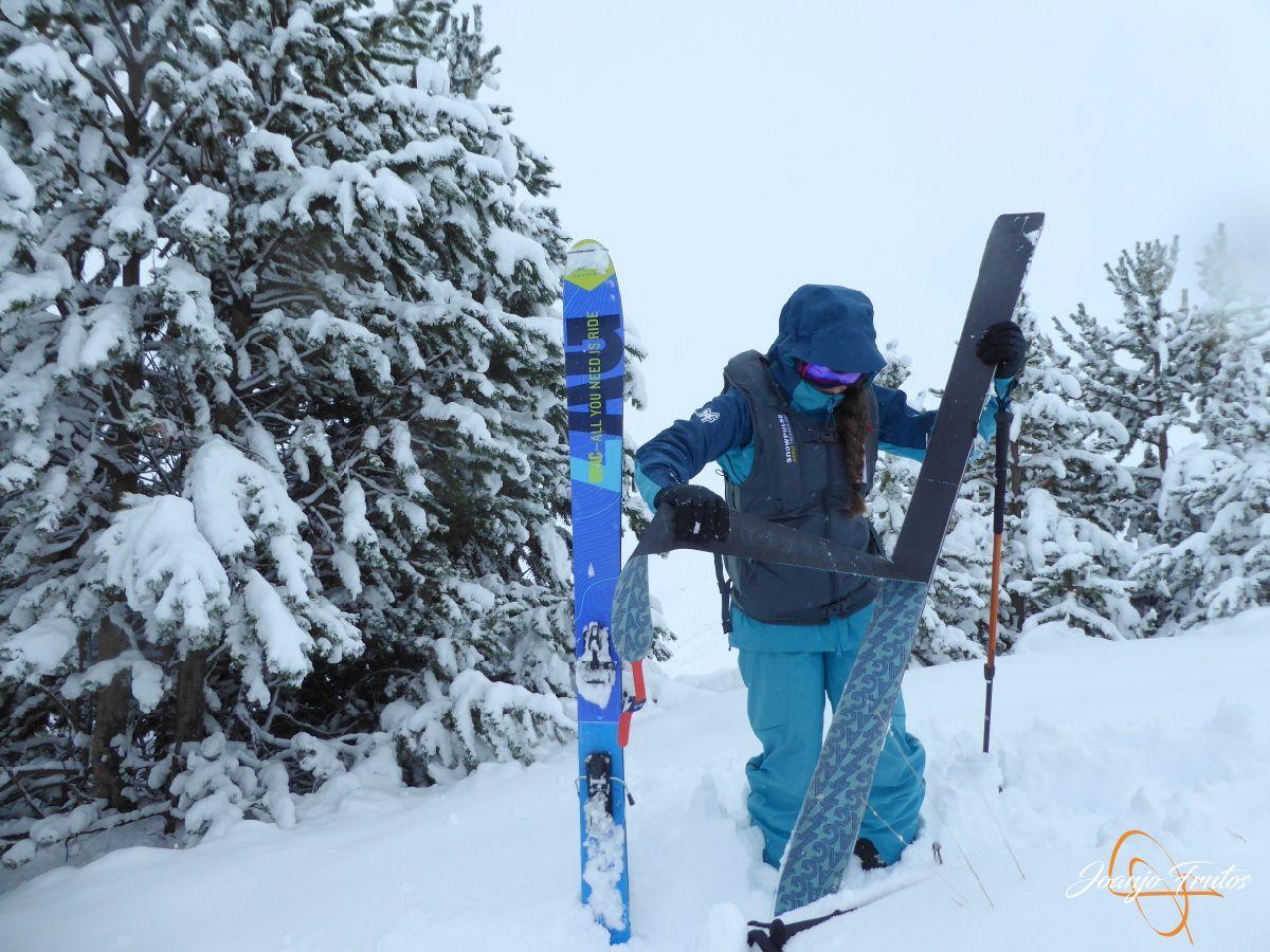 P1200233 - Octubre esquiando en Cerler.