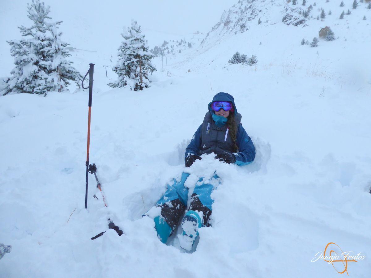 P1200239 - Octubre esquiando en Cerler.