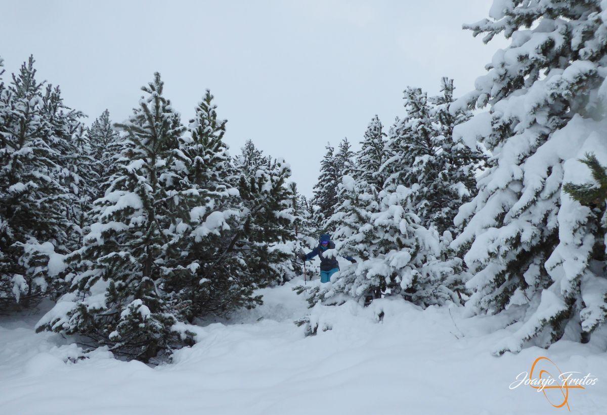 P1200247 - Octubre esquiando en Cerler.