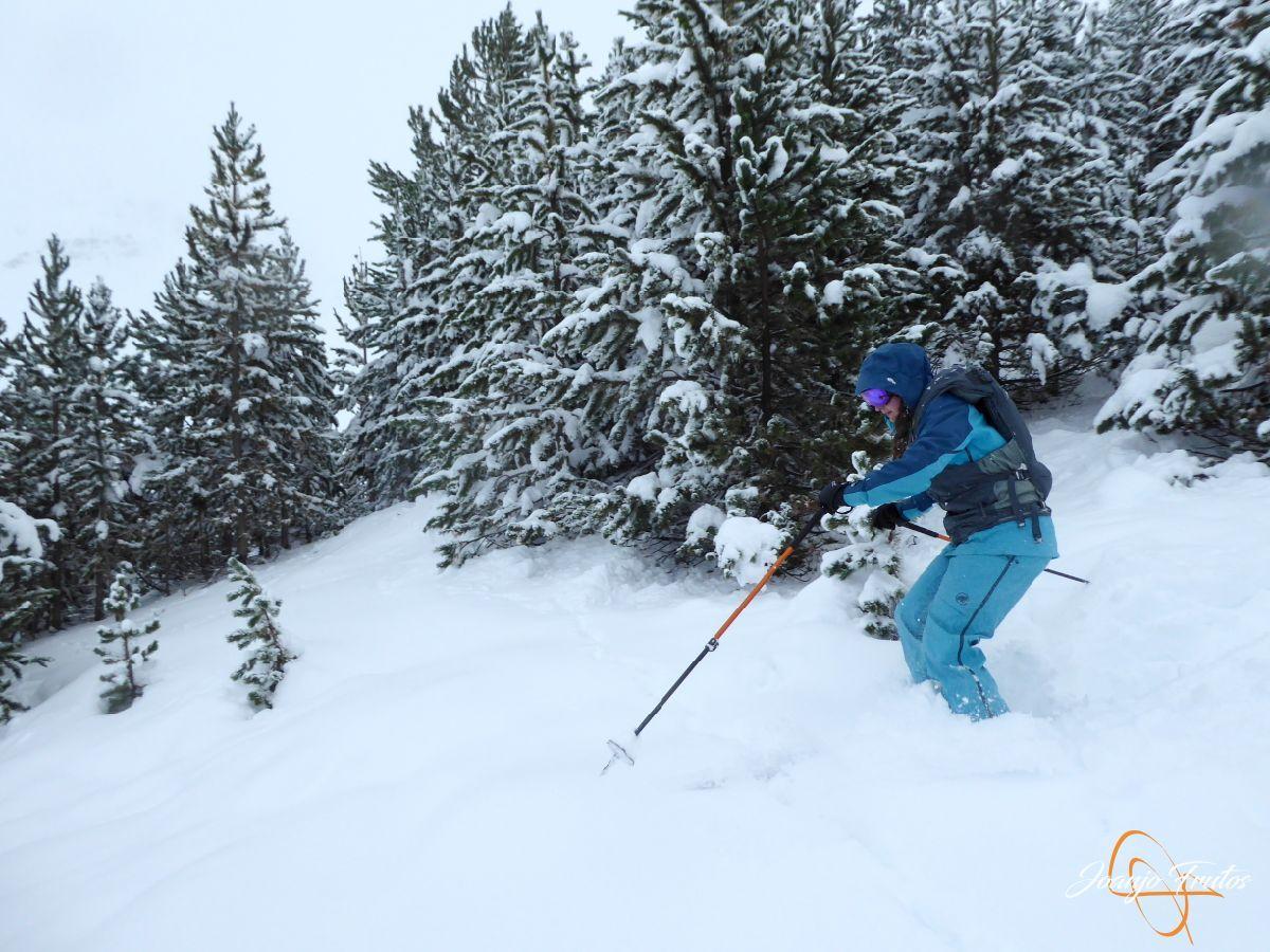 P1200252 - Octubre esquiando en Cerler.