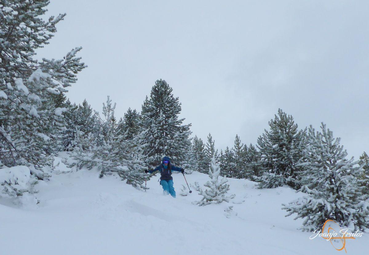 P1200259 - Octubre esquiando en Cerler.