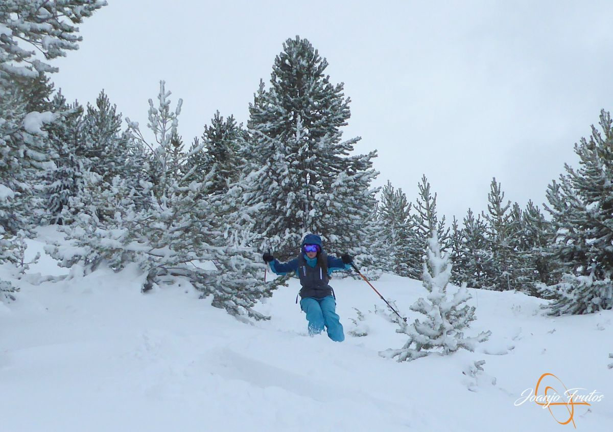 P1200260 - Octubre esquiando en Cerler.
