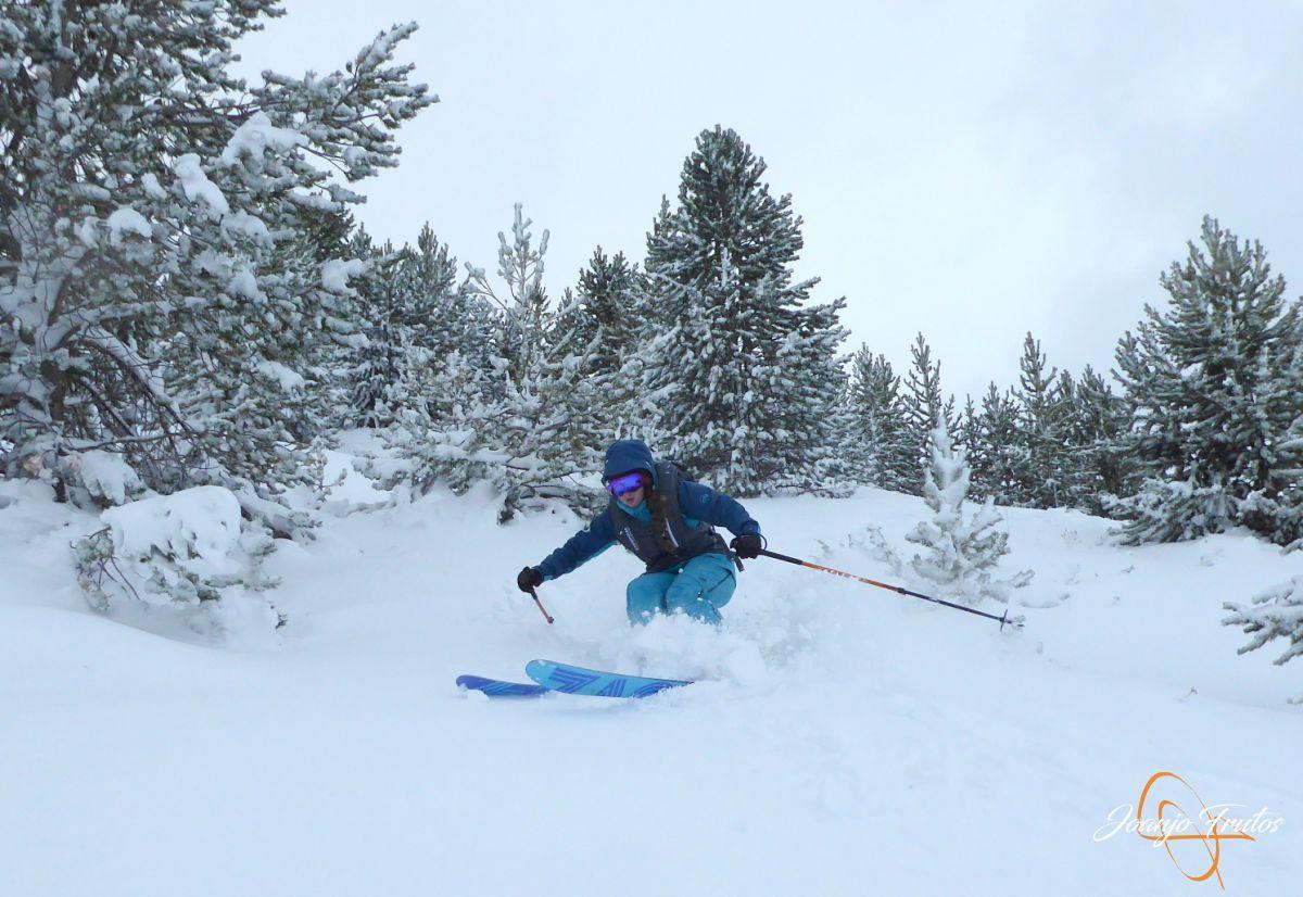P1200261 - Octubre esquiando en Cerler.