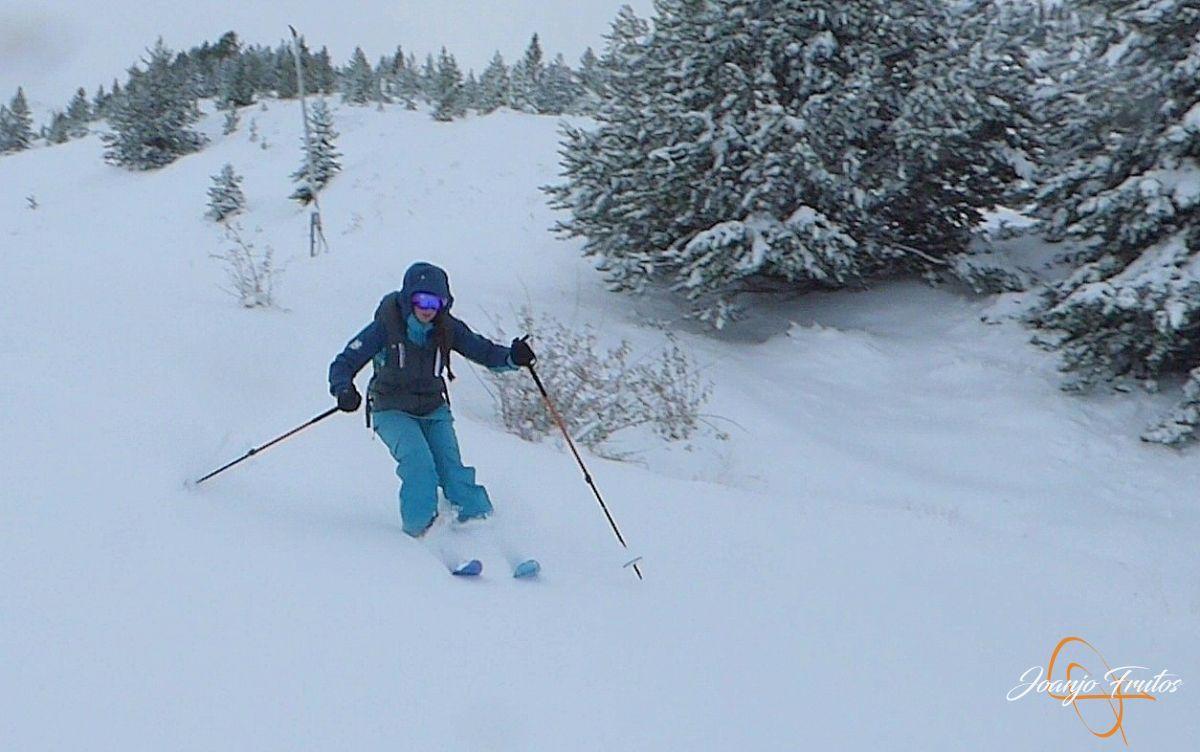 P1200290 - Octubre esquiando en Cerler.