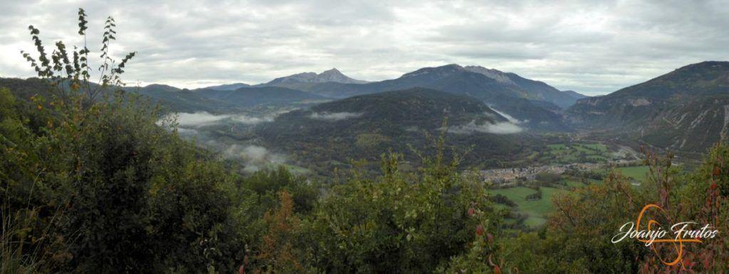 Panorama 1 001 2 1024x386 - Cerca de Castejón de Sos, pedaleando ...