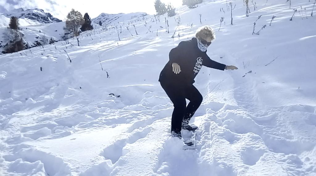 Captura de pantalla 2018 11 04 a las 18.49.22 1024x572 - Cuarta esquiada en Cerler, aún con nieve polvo.