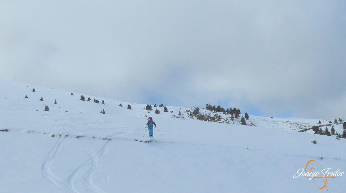 P1200513 - Tercer día, en Cerler se esquía nieve polvo.
