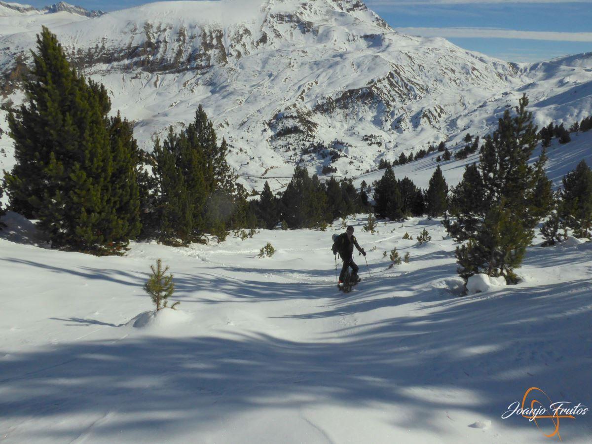 P1200579 - Cuarta esquiada en Cerler, aún con nieve polvo.
