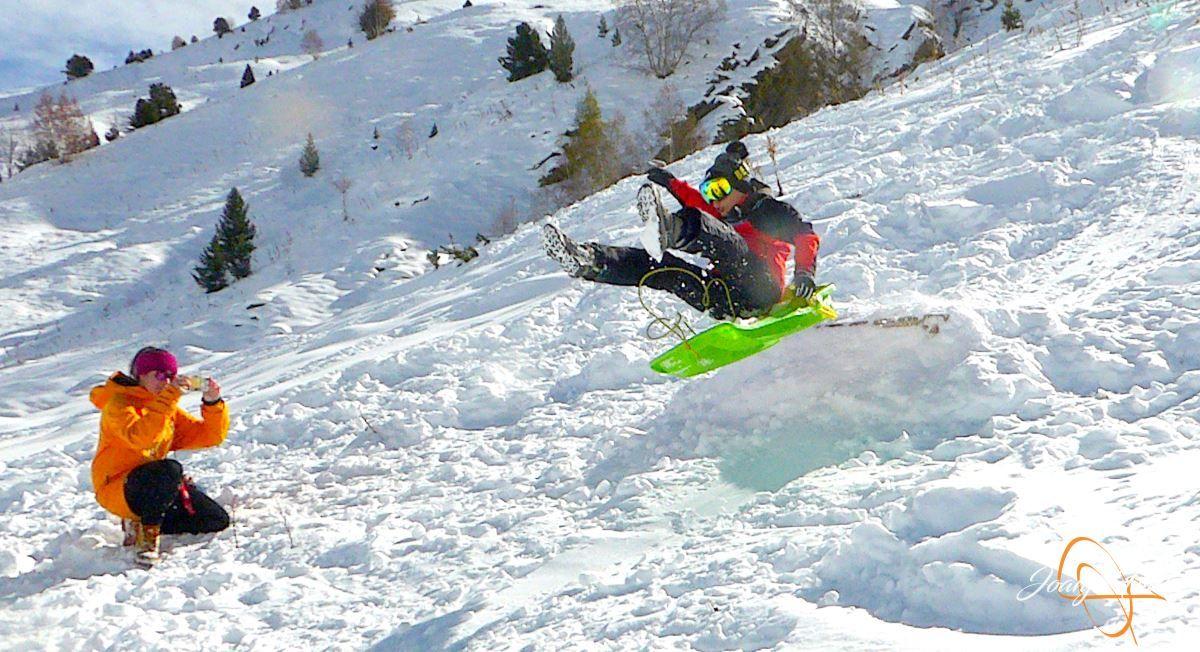 P1200616 - Cuarta esquiada en Cerler, aún con nieve polvo.