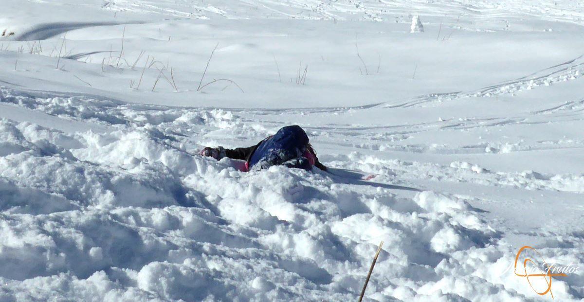 P1200648 - Cuarta esquiada en Cerler, aún con nieve polvo.