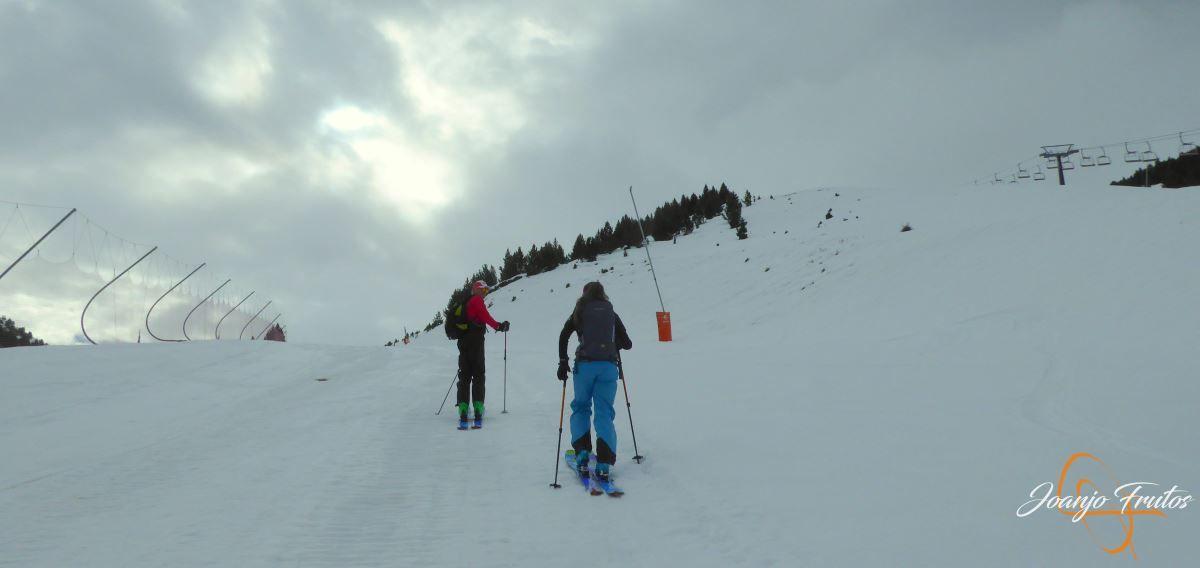P1200927 - Cogulla pisado y esquiado 11 NOV.