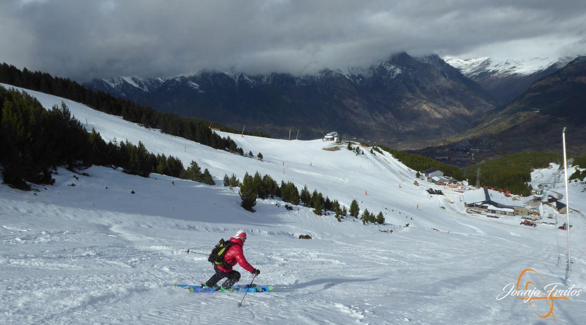 P1200964 - Cogulla pisado y esquiado 11 NOV.