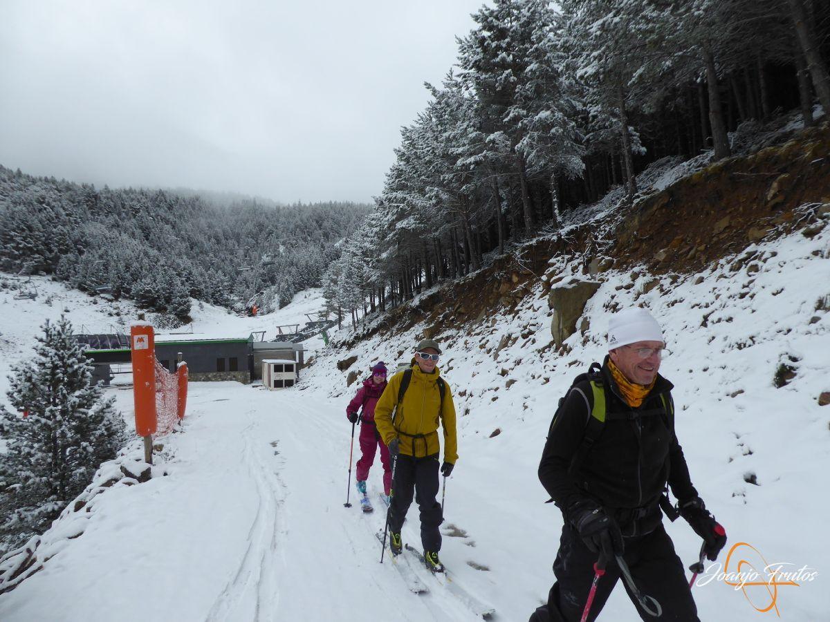 P1210136 - Décima esquiada y nueva nevada en Cerler.