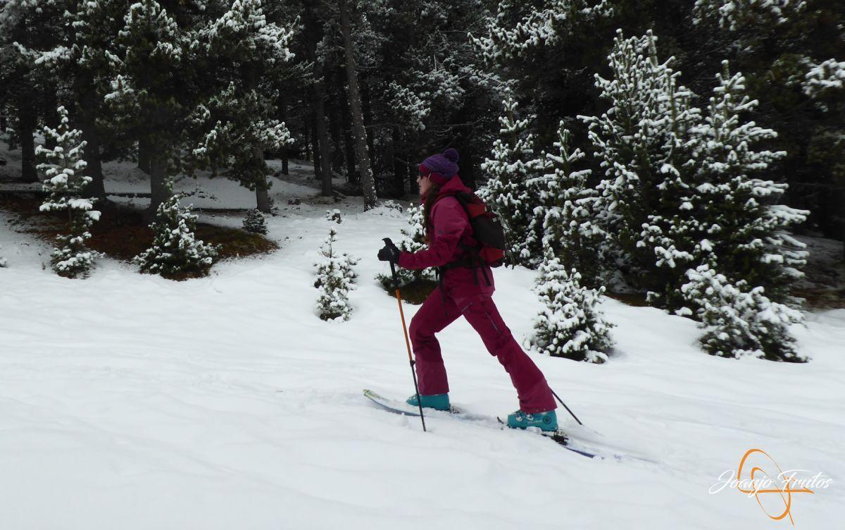 P1210141 - Décima esquiada y nueva nevada en Cerler.