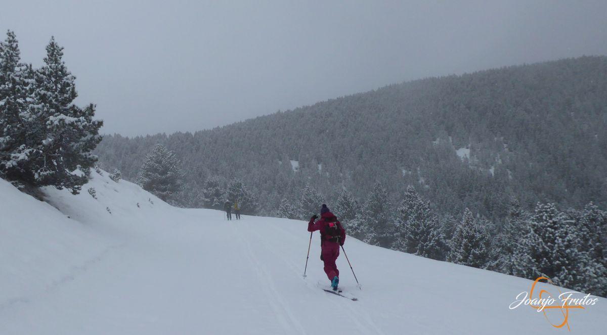 P1210153 - Décima esquiada y nueva nevada en Cerler.