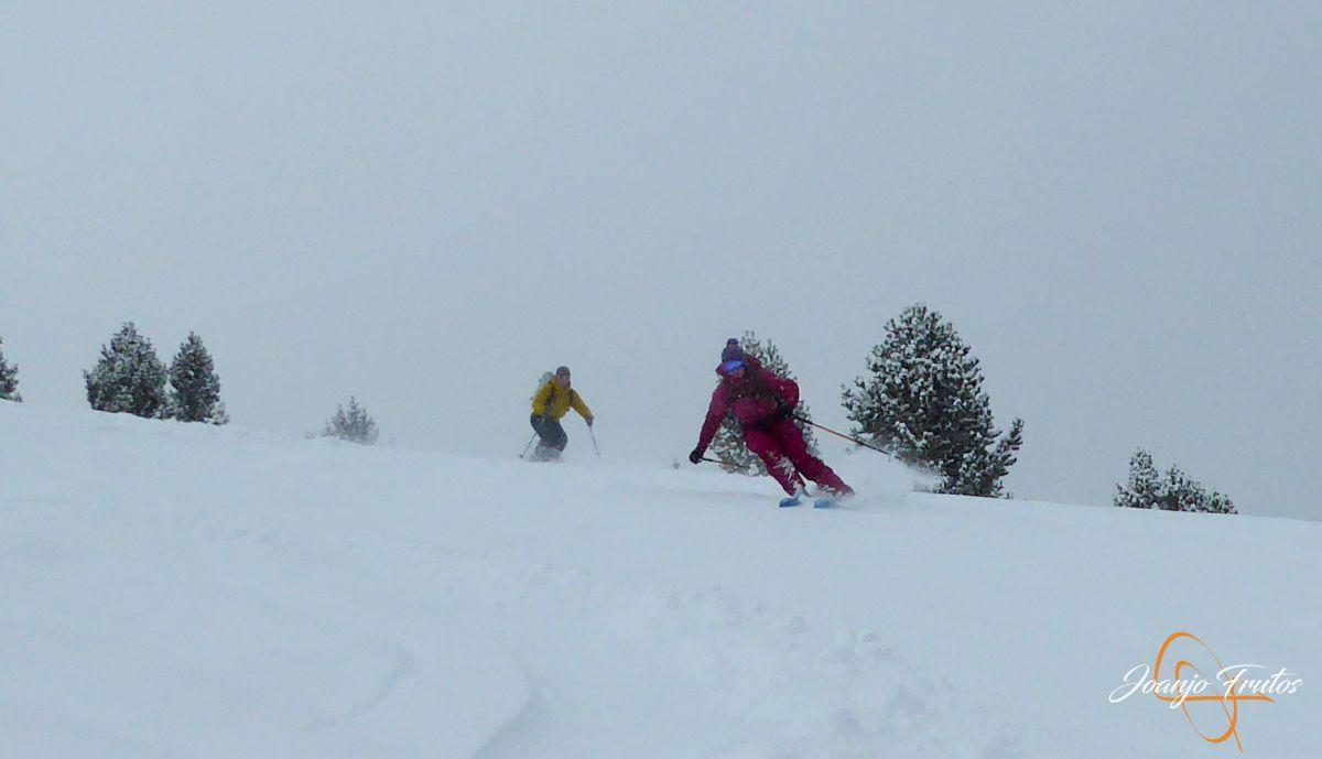 P1210188 - Décima esquiada y nueva nevada en Cerler.