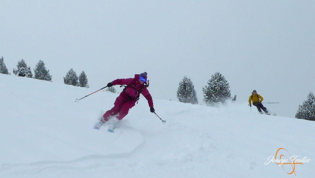P1210189 - Décima esquiada y nueva nevada en Cerler.