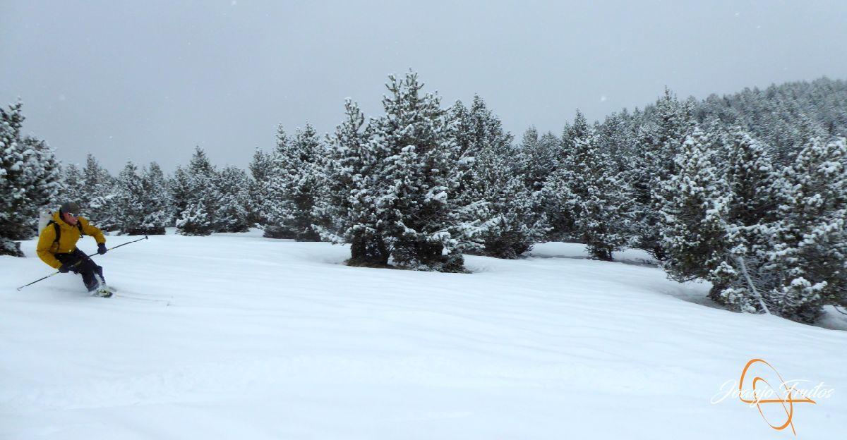 P1210192 - Décima esquiada y nueva nevada en Cerler.