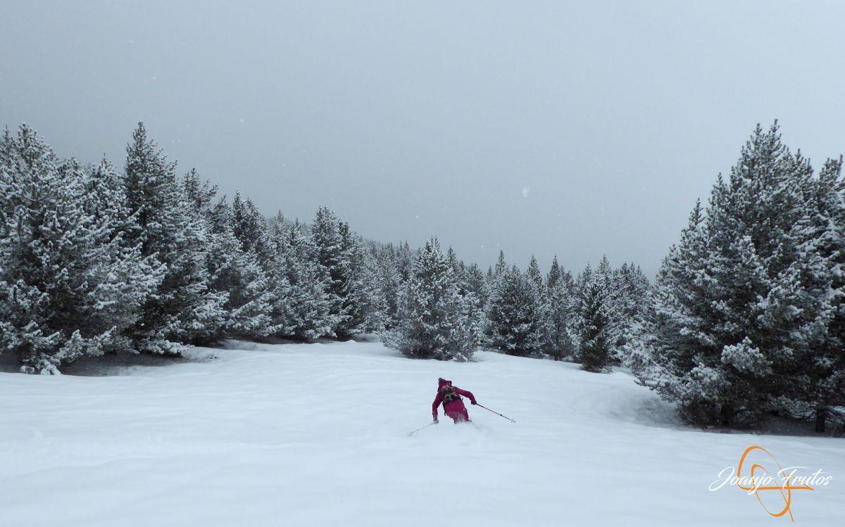 P1210193 - Décima esquiada y nueva nevada en Cerler.