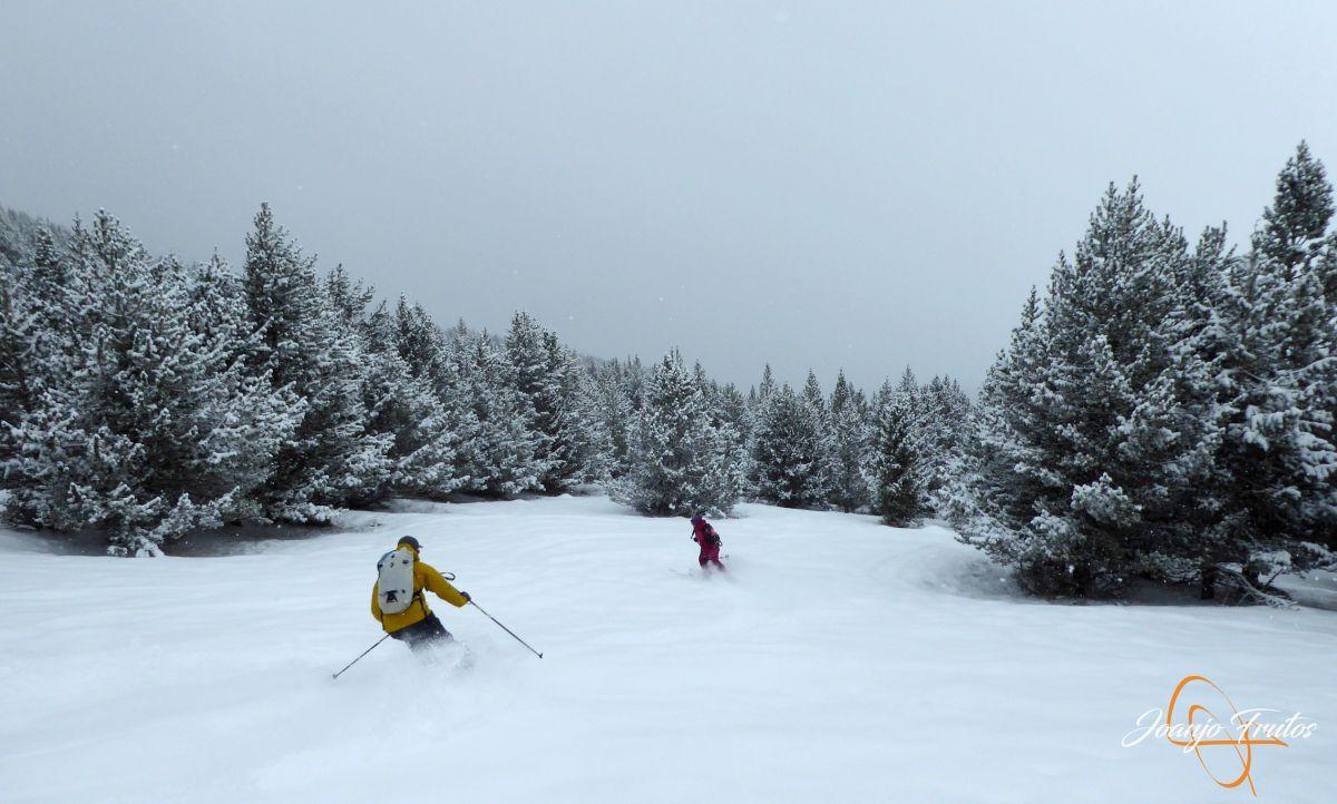 P1210194 - Décima esquiada y nueva nevada en Cerler.
