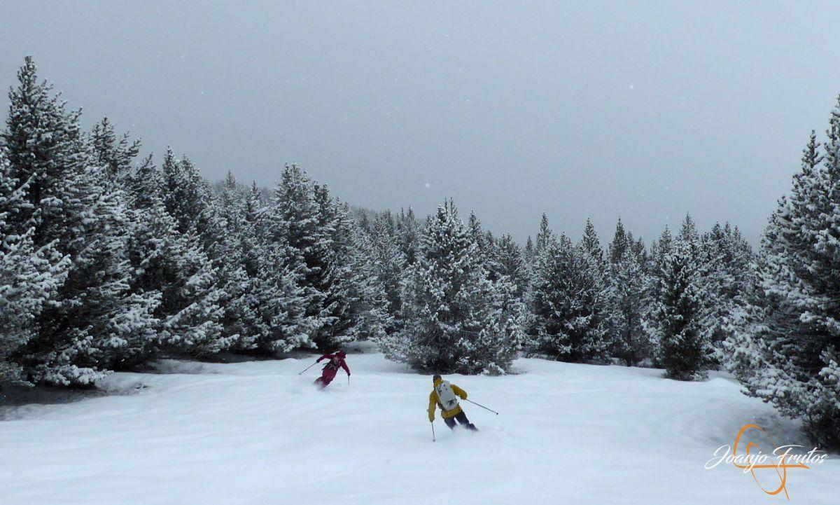 P1210196 - Décima esquiada y nueva nevada en Cerler.