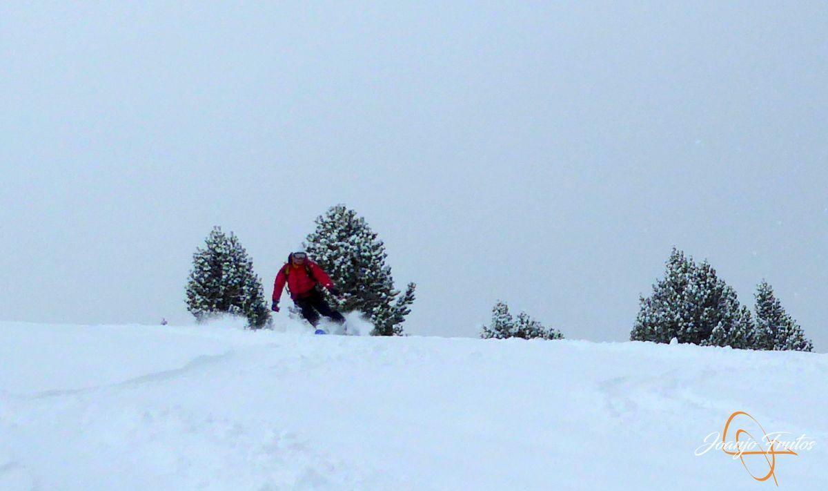 P1210197 - Décima esquiada y nueva nevada en Cerler.
